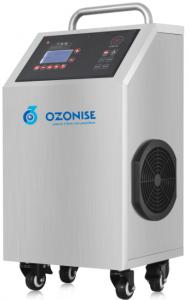 Τροχήλατες συσκευές για απολύμανση κι απόσμηση με όζον σε αέρα χώρων και σε νερό